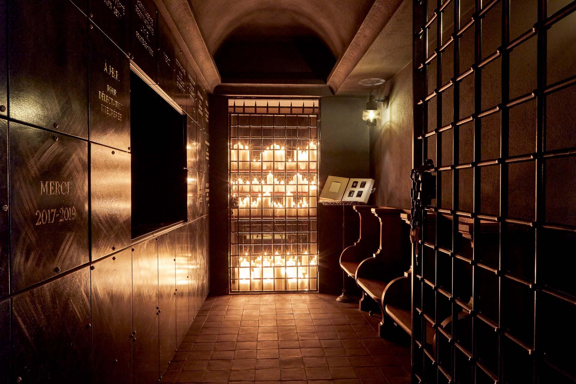 Hôtel Sinner Crypte